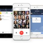 LINE、複数人と同時に音声通話ができるグループ通話の提供開始