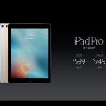 Apple、9.7インチ型「iPad Pro」を正式発表!