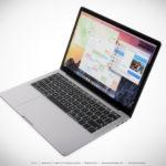 新型「MacBook Pro」イメージ画像!有機ELディスプレイのタッチバー搭載
