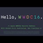 WWDC2016発表内容〜「iOS10」「macOS Sierra」「watchOS3」「tvOS」