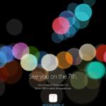 Appleが9月7日にスペシャルイベントを開催!「iPhone 7」の発表か