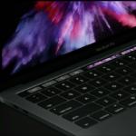 Appleが3タイプの新型MacBook Proを発表!Touch Bar、Touch ID搭載!