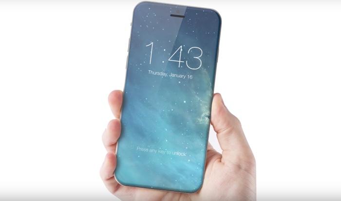 全面ガラス製iphoneイメージ画像