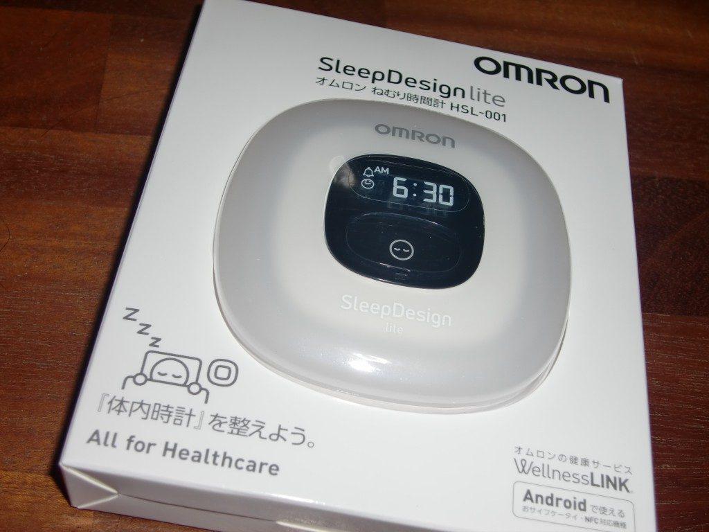 オムロンねむり時間計 HSL-001