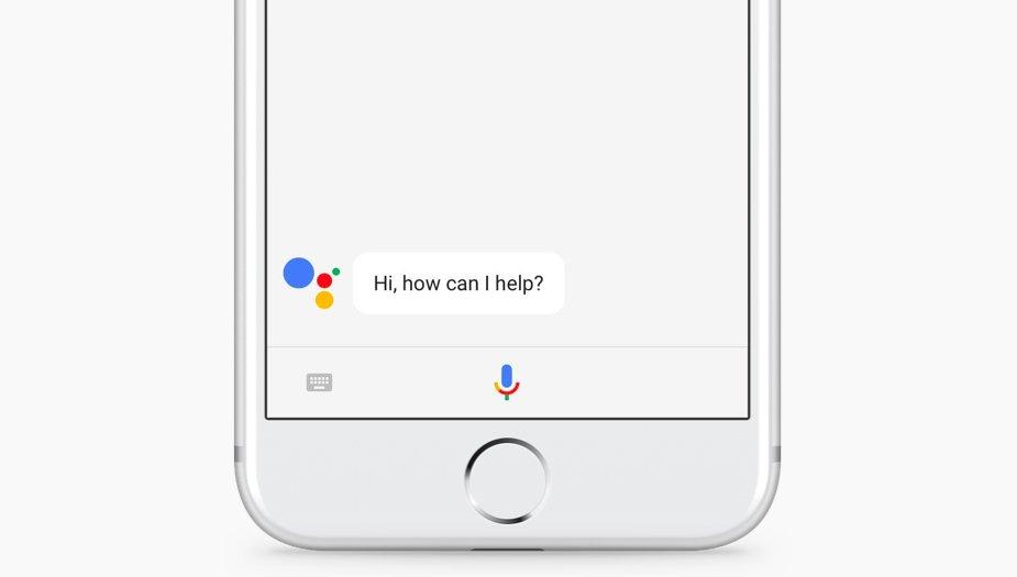 GoogleAssistant iPhone