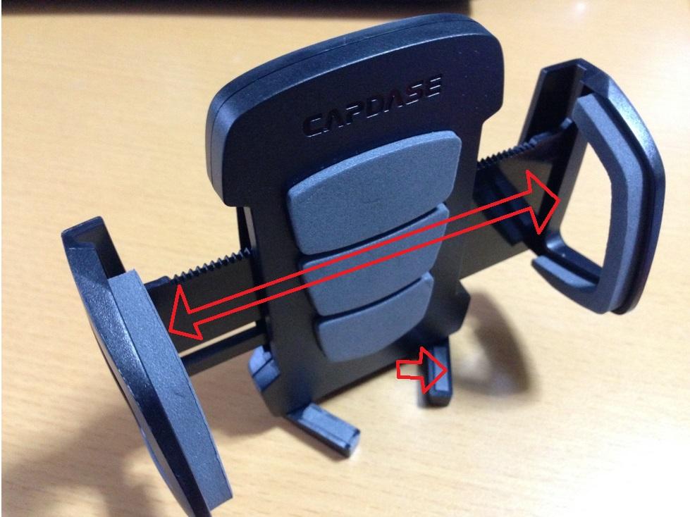 CAPDASE 日本正規品 カーリアービュー マウントホルダー レーサー バックミラー ぶら下げ タイプ HR00-CC01
