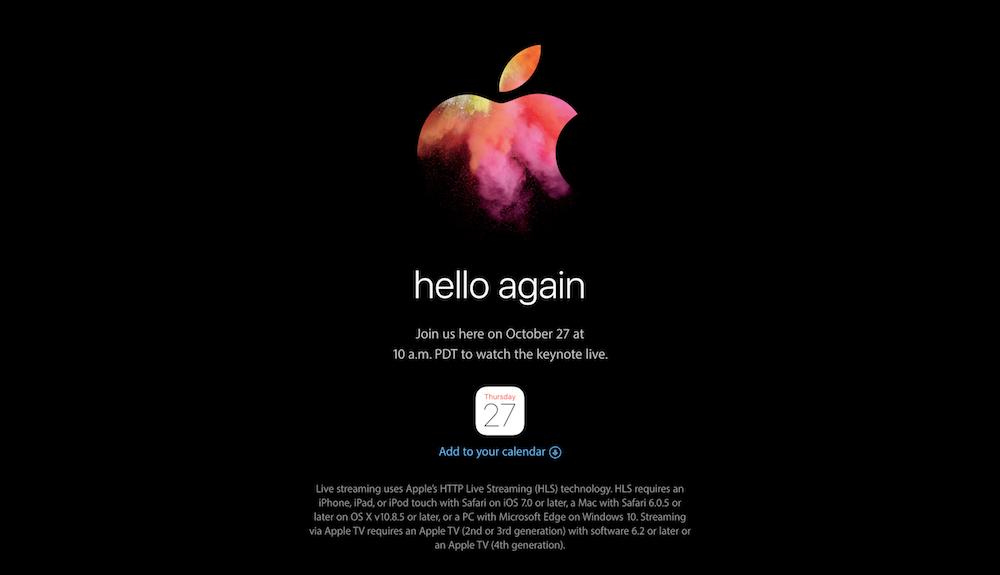 Apple(hello again)